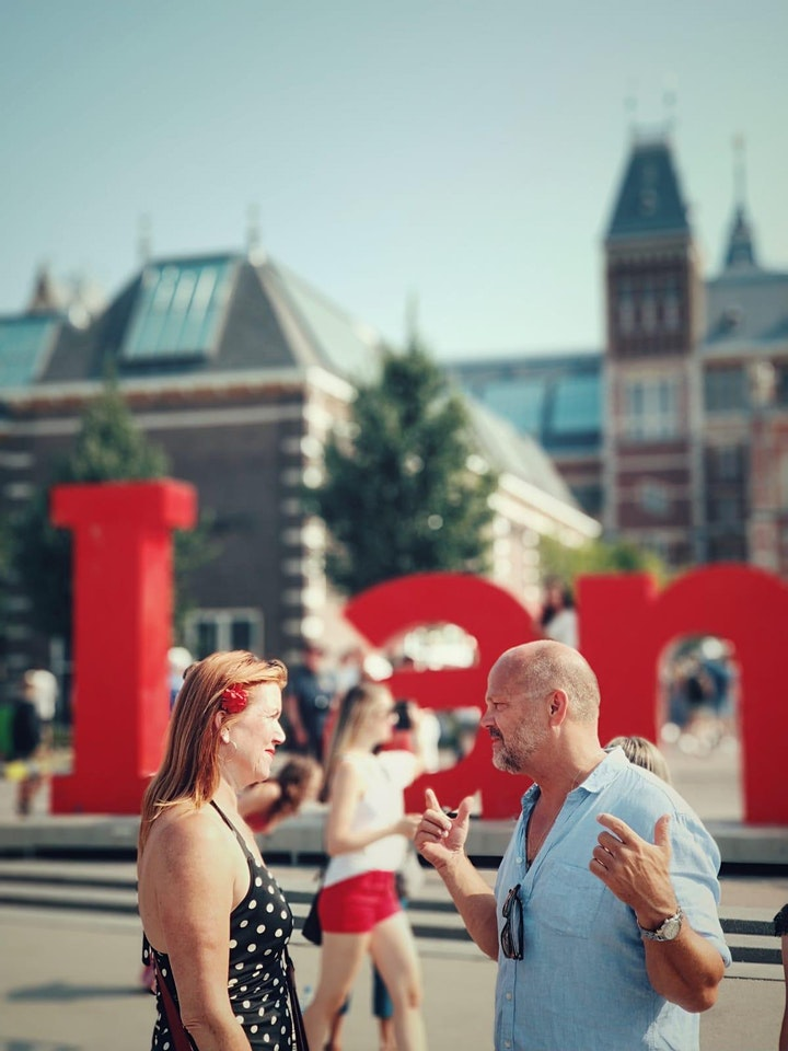 LGBT GAY History Tour. Amsterdam as gay capital by local guide Henk.  image