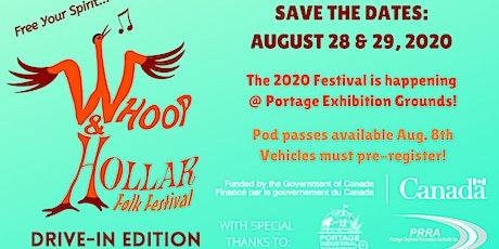 Whoop & Hollar Folk Festival: Drive-In Edition tickets