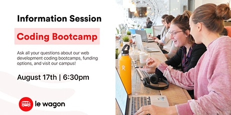 Coding Bootcamp - Information Session tickets