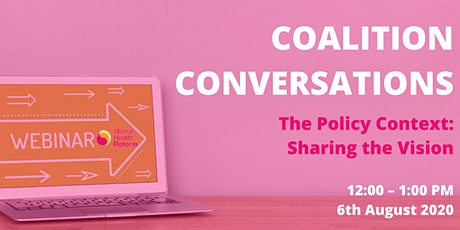 The Policy Context: Sharing the Vision tickets