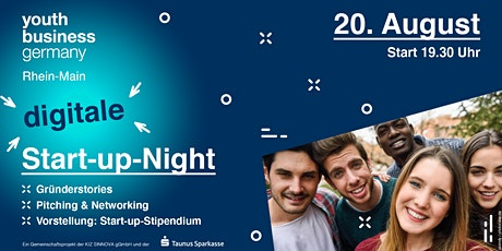 Die digitale Start-up-Night by YBG & Taunus Sparkasse Tickets