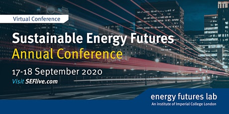 Sustainable Energy Futures Annual Conference 2020 tickets