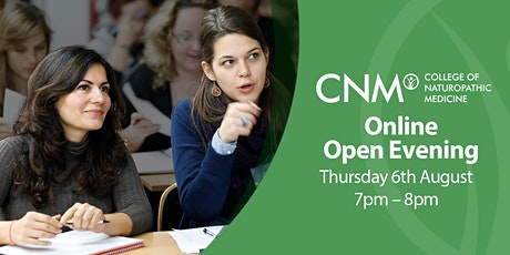 CNM Online Open Evening - Thursday 6th August 2020 tickets