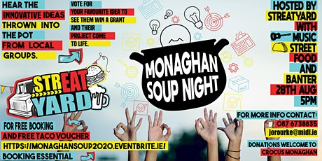 Monaghan Soup tickets