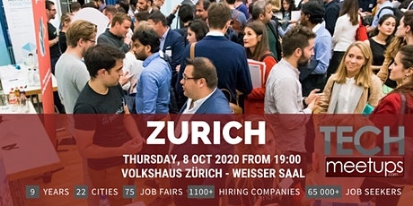 Zurich Tech Job Fair Autumn 2020 By Techmeetups tickets
