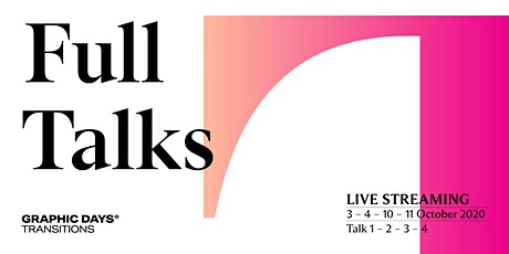 Full Talks in live streaming | Graphic Days® Transitions biglietti