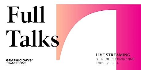 Full Talks in live streaming   Graphic Days® Transitions biglietti