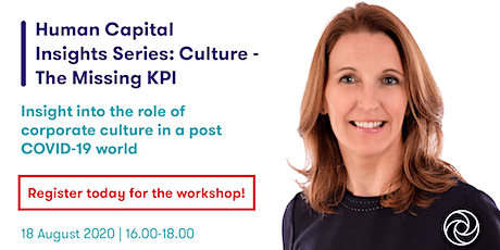 Culture - The Missing KPI tickets
