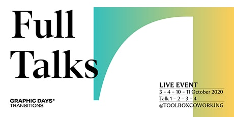 Full Talks | Graphic Days® Transitions biglietti