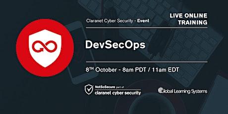 DevSecOps Live Online Training entradas