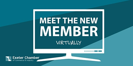 Meet the NEW Member - VIRTUALLY tickets