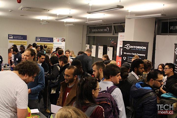Berlin Tech Job Fair By Techmeetups image