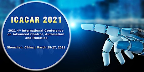 Conference on Advanced Control, Automation and Robotics (ICACAR 2021) tickets