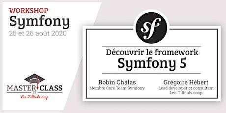 Workshop Découvrir Symfony 5 avec Robin Chalas et Grégoire Hébert billets