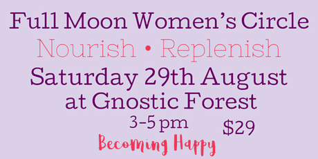 Full Moon Women's Circle - August 29th tickets