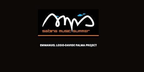 EMMANUEL LOSIO DAVIDE PALMA PJT  @ SABINA MUSIC SUMMER -  ABBAZIA DI FARFA biglietti