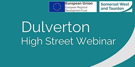 Dulverton - Town Webinar tickets