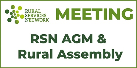 RSN AGM & Rural Assembly meeting tickets
