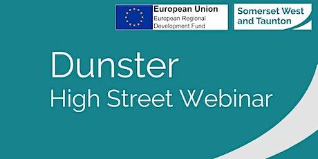 Dunster - Town Webinar tickets