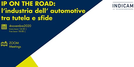 IP ON THE ROAD: l'industria dell'automotive tra tutela e sfide biglietti