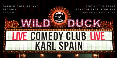 Wild Duck Comedy: Slum Runners Fundraiser with Karl Spain & Special Guests! tickets