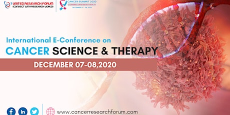 International E-Conference on Cancer Science and Therapy tickets