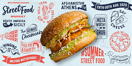Milford Haven Street Food Market 2020 tickets
