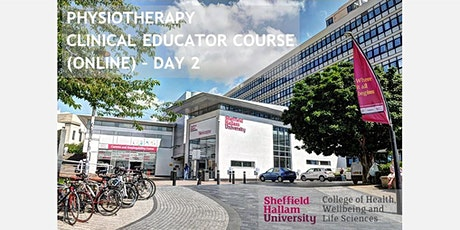 PHYSIOTHERAPY CLINICAL EDUCATOR COURSE (ONLINE) - DAY 2 tickets