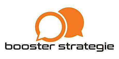 Jetzt Unternehmer 4.0 werden mit  der Booster- Strategie. Tickets