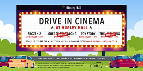 Himley Hall drive-in cinema Frozen 2 tickets