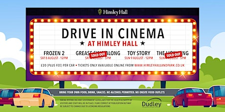 Himley Hall drive in cinema Toy Story tickets