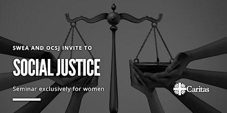 SWEA Social Justice Seminar tickets