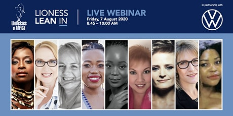 Lioness Lean In Live Webinar 7 August tickets