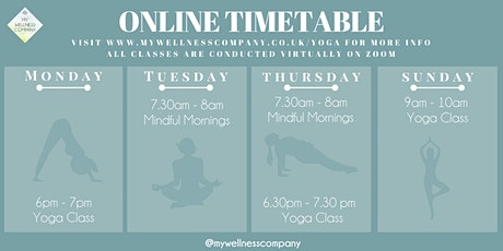 Mindful Mornings - Online Class tickets