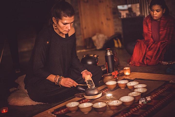 VIRTUAL ~ New Moon Tea Ceremony and Women's Circle - LIBRA image