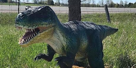 Dinosaur Drive-Thru:  Wednesday August 19th  - COVID 19 Safe tickets