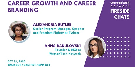 Career Growth and Career Branding tickets