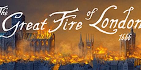 Online Talk: Great Fire of London tickets