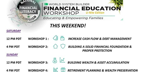 Financial Literacy Boot Camp tickets