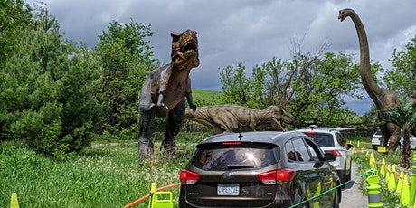 Dinosaur Drive-Thru:  Thursday August 27th   - COVID 19 Safe tickets