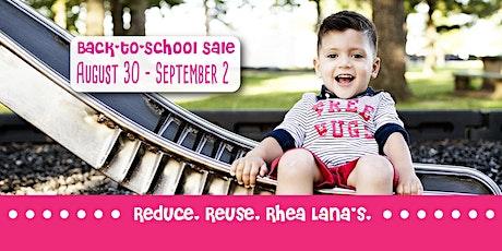 Rhea Lana's of Manatee County Back to School/Fall 2020 Sale tickets