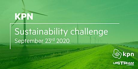 KPN Sustainability Network Challenge tickets