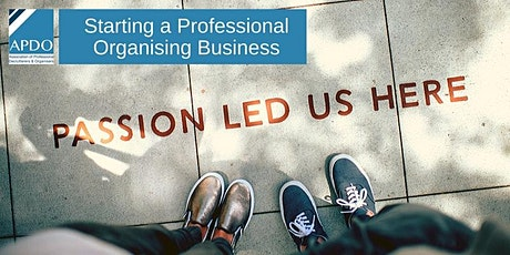 Starting A Professional Organising Business - 26/9/2020 & 3/10/2020 tickets