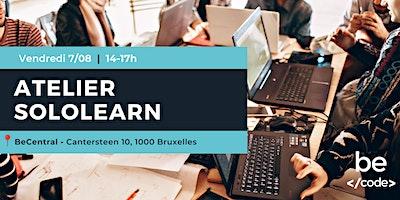 Atelier SoloLearn – BeCode Bruxelles (3)