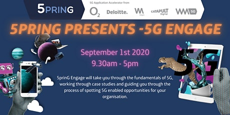 5prinG Engage - Discover the true potential of 5G tickets