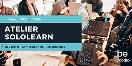 Atelier SoloLearn - BeCode Bruxelles (4) tickets