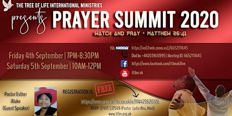 Prayer Summit 2020 tickets
