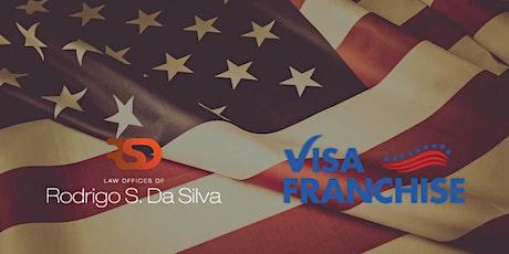 Emigrar aos Estados Unidos através do Visto E-2 e investimentos em Franquia tickets