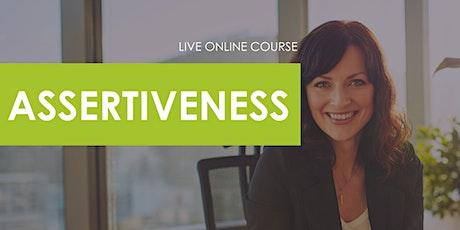 Assertiveness Course tickets