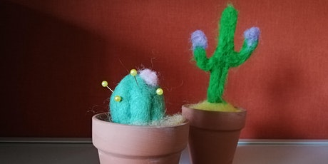 Let's Create: Felted Cactus (Pincushion) tickets